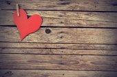 Vintage heart — Stock Photo