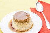 Dessert flan — Foto Stock