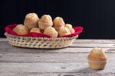 Homemade cupcake — Stock Photo
