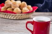 Sweet breakfast — Stock Photo