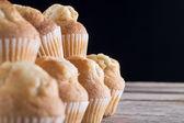 Cupcake pyramid — Stock Photo