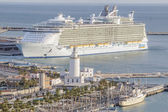Allure of the Seas in Malaga — Stock Photo