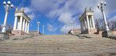 Volgograd. Central embankment. — Stock Photo