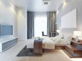 Design bedroom Contemporary-style.