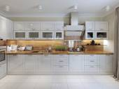 Kitchen contemporary style — 图库照片