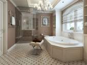 Bathtubs classic style — Stock Photo