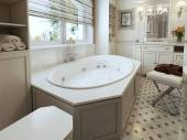 Bathtubs classic style — Stock Photo