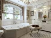 Badkuipen klassieke stijl — Stockfoto