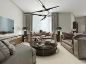 Living room contemporary Style — Stock Photo