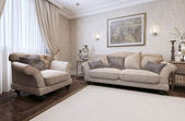 Sofa classic style — Stock Photo