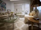 Living room Arabic style — Stockfoto