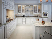 Kitchen in classic style — Stock Photo