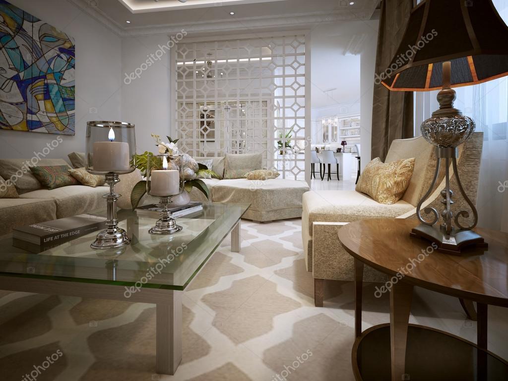 woonkamer arabische stijl — stockfoto © kuprin33 #60968557, Deco ideeën