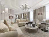 Luxury studio interior — Stock Photo