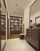 Contemporary hallway — Stock Photo