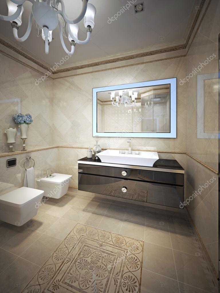 Elegant badrum design — stockfotografi © kuprin33 #77519690