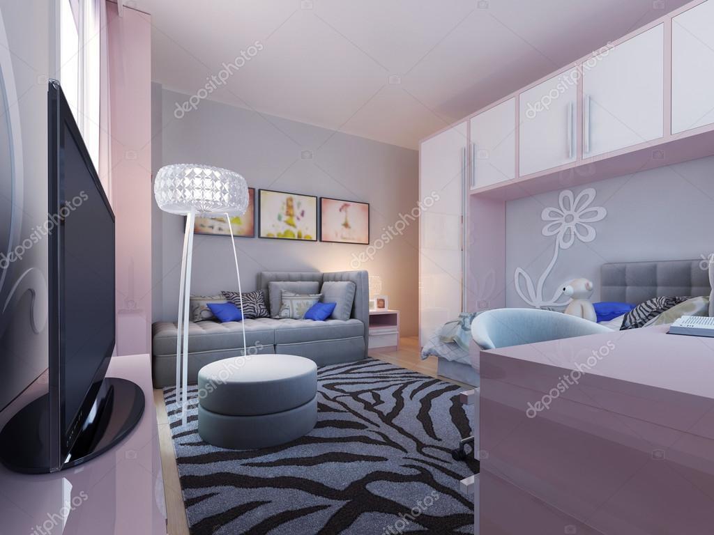 Moderna tonÃ¥ring sovrum design — stockfotografi © kuprin33 #77521090