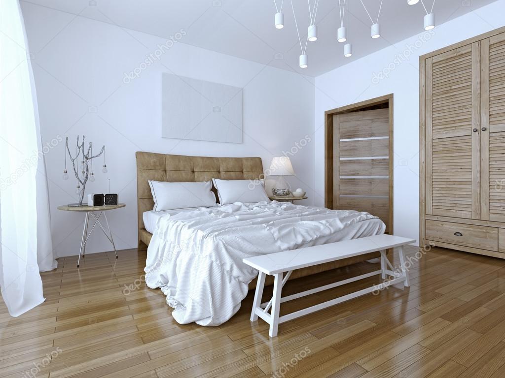 Kontrast färg vackra sovrum — stockfotografi © iriana88w #42212059