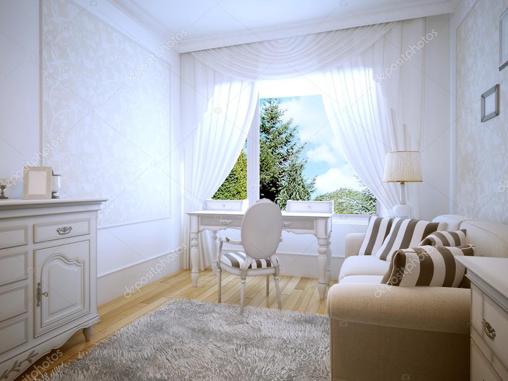 Toalettbord i provence sovrum — stockfotografi © kuprin33 #83418644