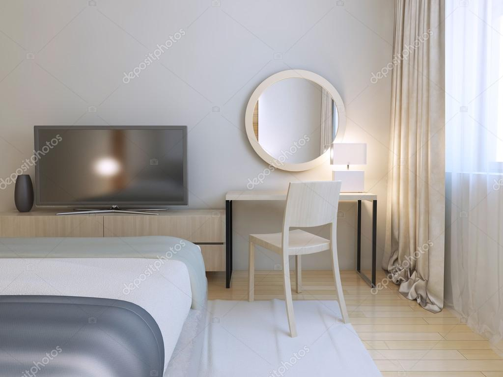 Interno camera da letto moderna — Foto Stock © kuprin33 #83419058