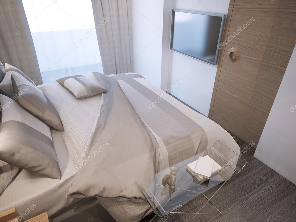 Gäst sovrum modern stil — Stockfotografi © kuprin33 #83419322