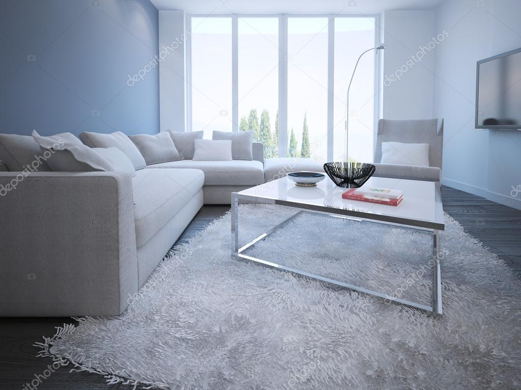 Samtida vardagsrummet stil — Stockfotografi © kuprin33 #83419556