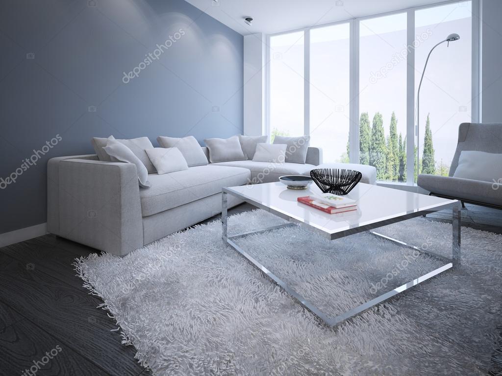 Minimalistisk vardagsrum design — Stockfotografi © kuprin33 #83419576