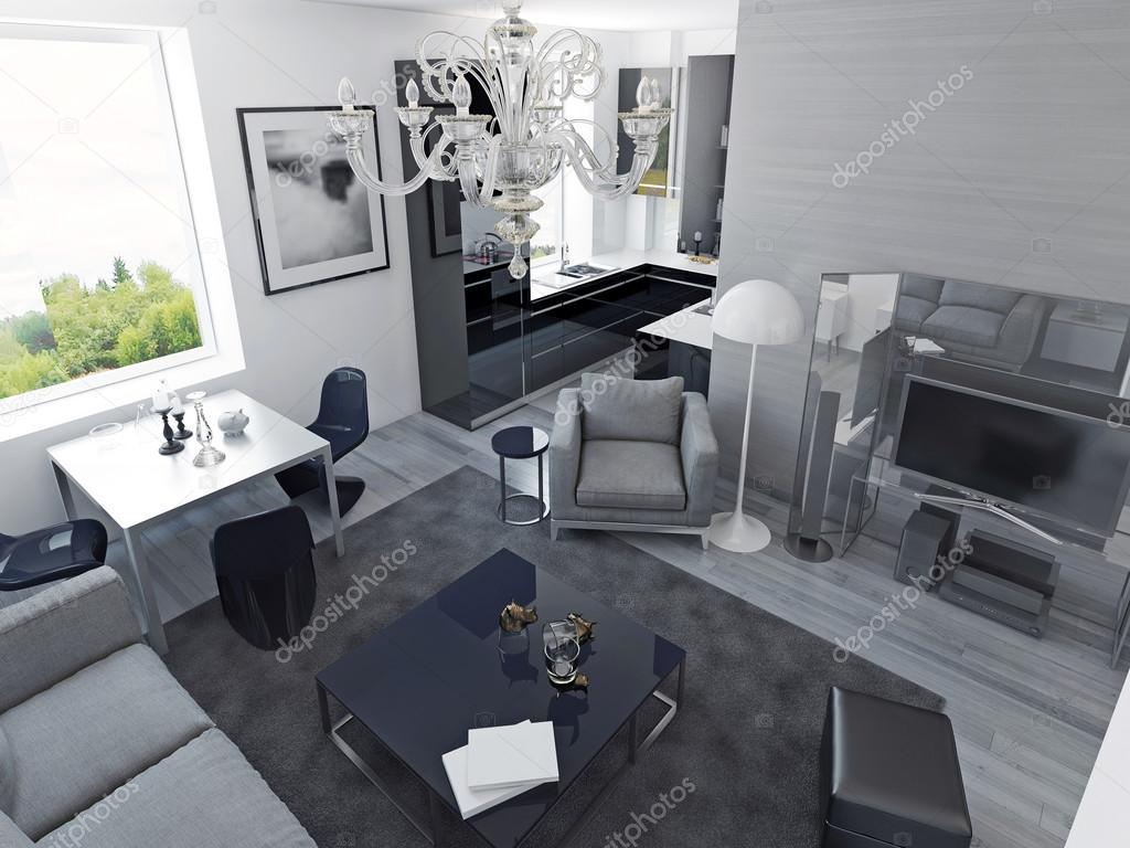 Lyx lägenheter modern stil — stockfotografi © kuprin33 #83426752