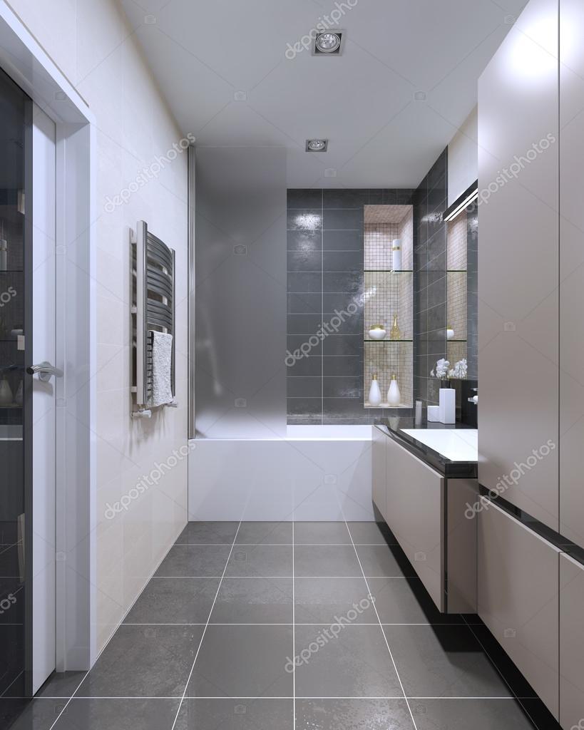 Dyra högteknologiska badrum trend — stockfotografi © kuprin33 ...