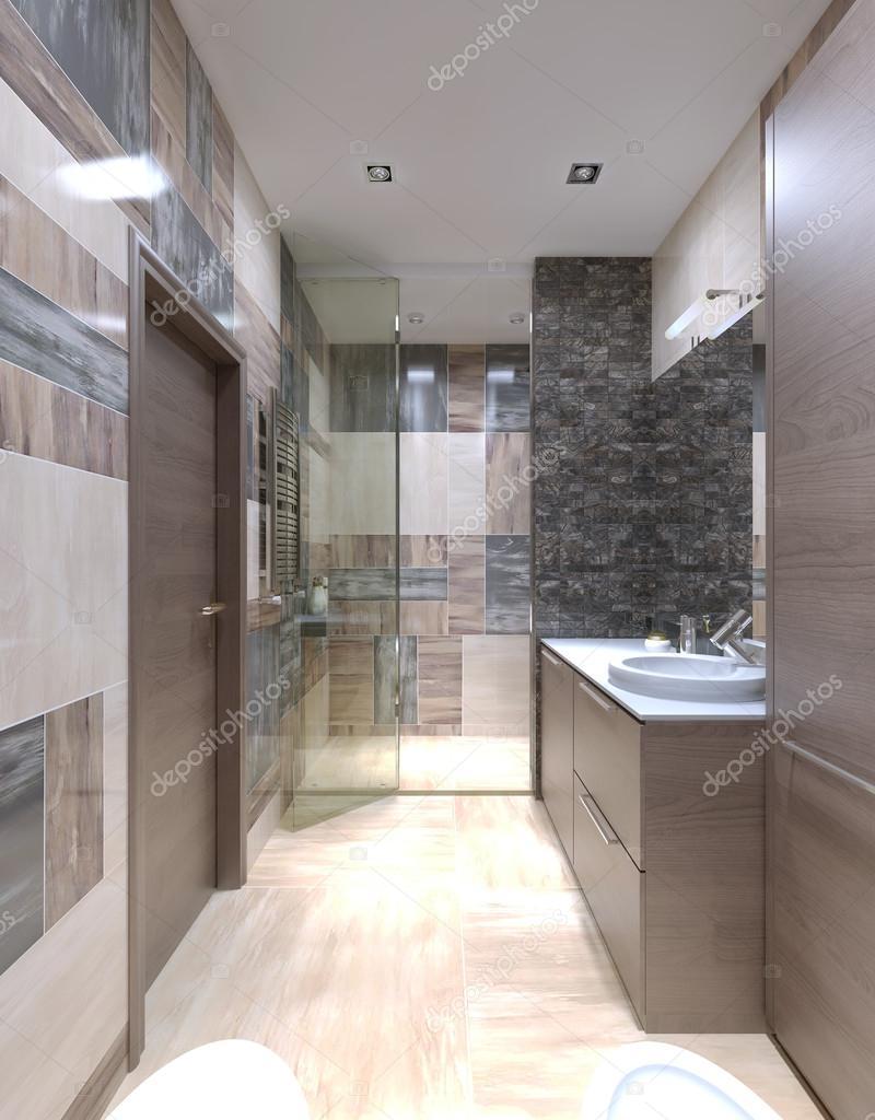Stort badrum modern interiör — stockfotografi © kuprin33 #83431074