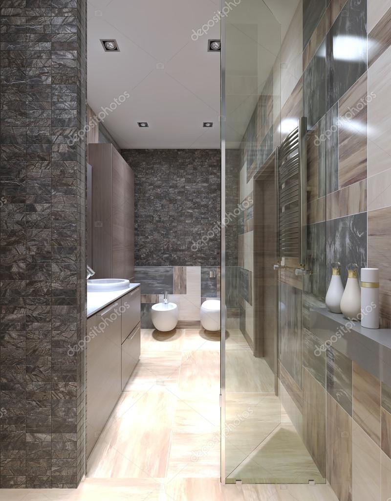 Moderna badrum design — stockfotografi © kuprin33 #83431080