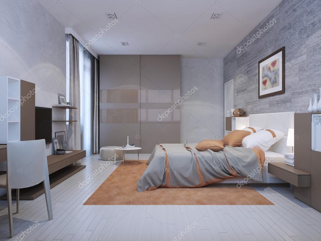 Sovrum art deco stil — stockfotografi © kuprin33 #83431276