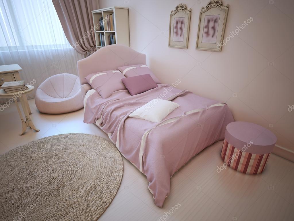 Säng i provence inredda sovrum — stockfotografi © kuprin33 #87649306