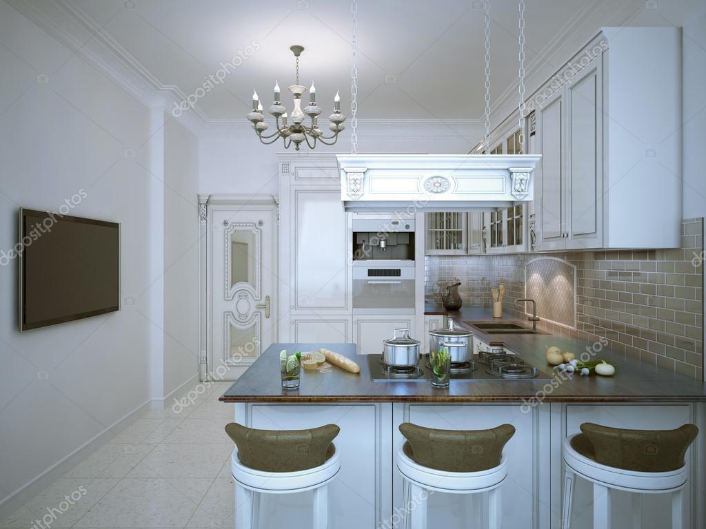 Provence utformningen av kök — Stockfotografi © kuprin33 #87649452