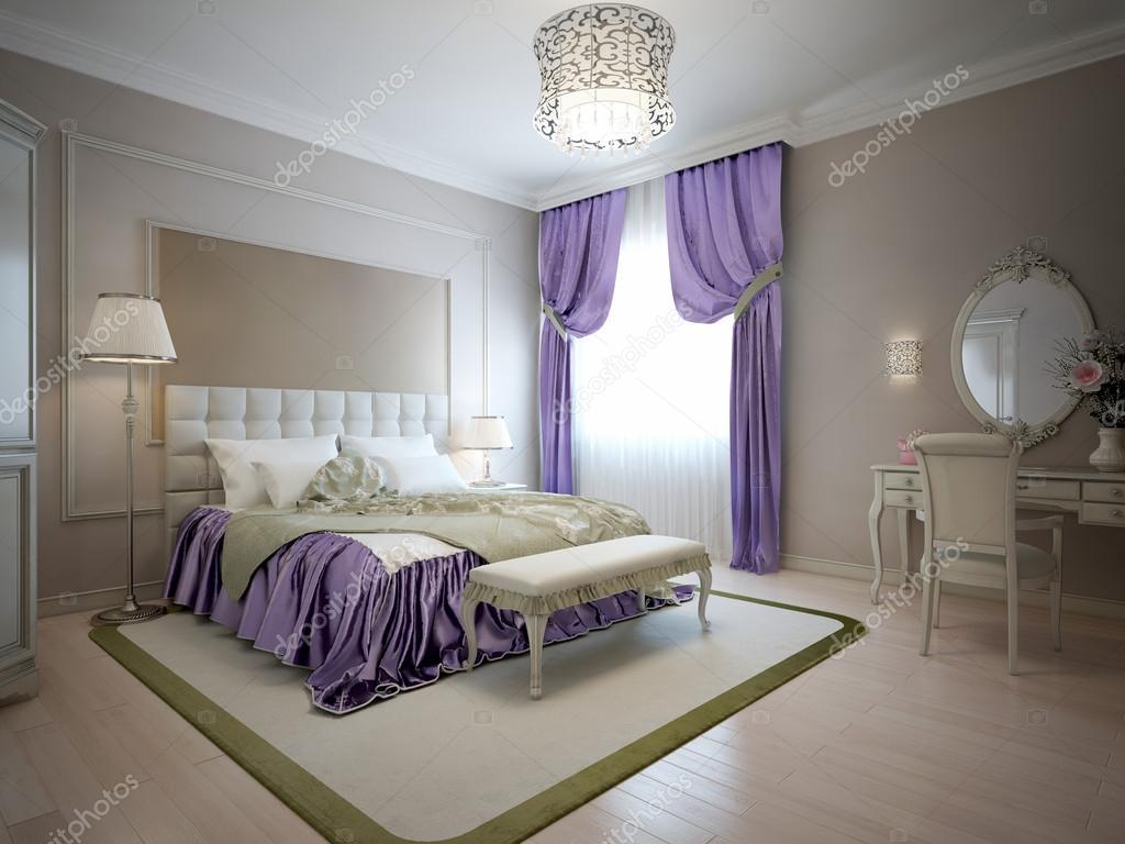 Elegant sovrum klassisk stil — stockfotografi © kuprin33 #87650456