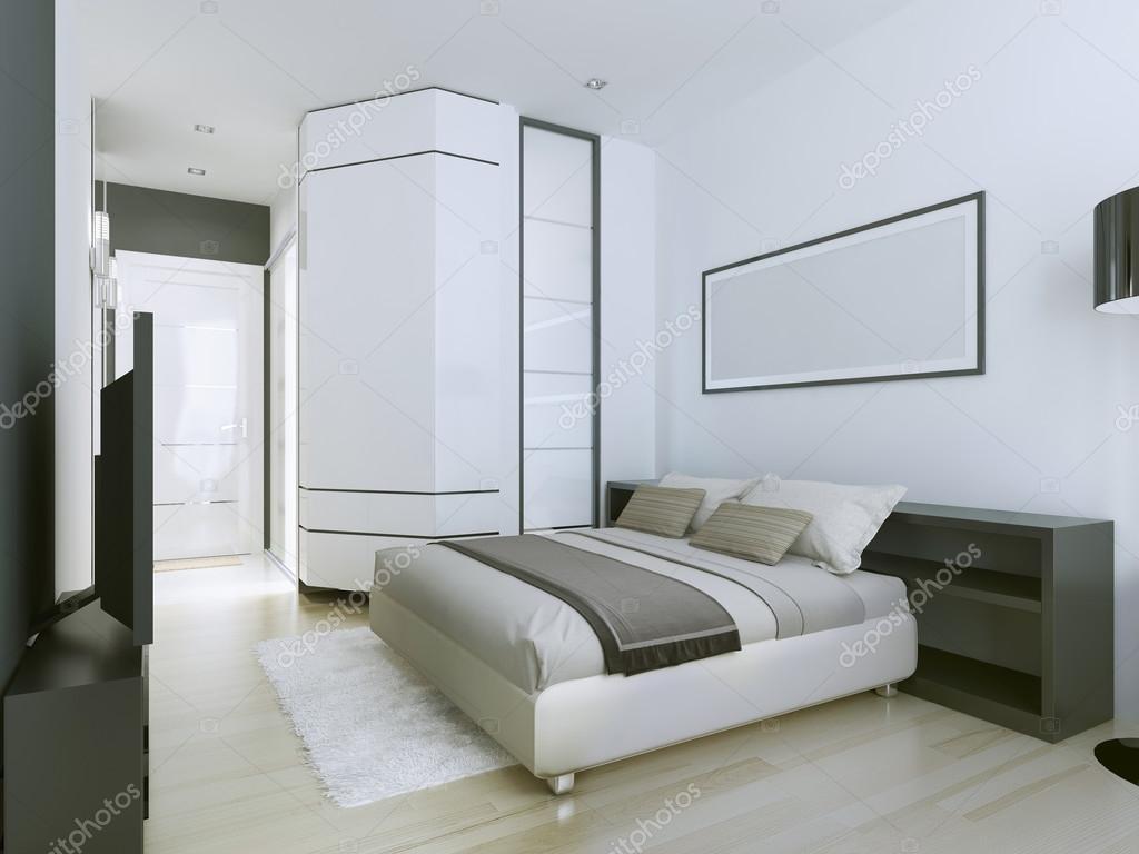 Lyxiga och rymliga sovrummet — stockfotografi © kuprin33 #95341836