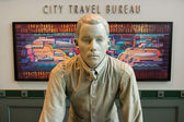 City travel bureau — Stock Photo