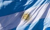 Argentina Flag — Stock Photo