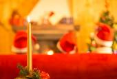 Christmas moment — Fotografia Stock