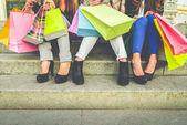 Women and shopping — Fotografia Stock