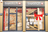 Swatch shop — Stockfoto