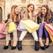 Women and shopping — Stock Photo #62732281