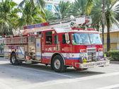 Feuerwehr in Miami — Stockfoto