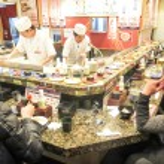 Sushi restaurant in Tokyo — Stock Photo #67505497