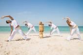 Capoeira athletes — Stock Photo