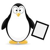 Vector penguin — Stock Vector