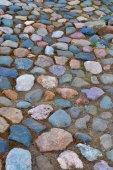 Texture of the laid stones — Stock Photo