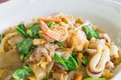 Fried Noodle with Seafood — Zdjęcie stockowe