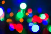 De focused lights , blur effect use for background — Stock Photo