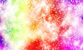 Colorful Bokeh background with Defocused lights — Stock Photo